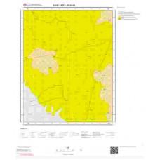 N41d4 Paftası 1/25.000 Ölçekli Vektör Jeoloji Haritası