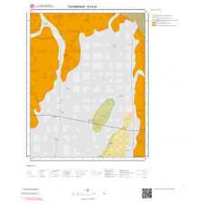 N42d1 Paftası 1/25.000 Ölçekli Vektör Jeoloji Haritası