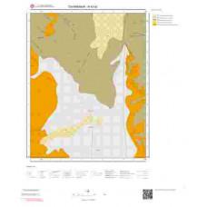 N42d2 Paftası 1/25.000 Ölçekli Vektör Jeoloji Haritası