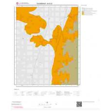 N42d3 Paftası 1/25.000 Ölçekli Vektör Jeoloji Haritası