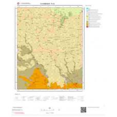 N43 Paftası 1/100.000 Ölçekli Vektör Jeoloji Haritası