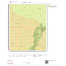 N43b1 Paftası 1/25.000 Ölçekli Vektör Jeoloji Haritası