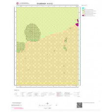 N43b2 Paftası 1/25.000 Ölçekli Vektör Jeoloji Haritası