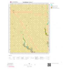 N43c1 Paftası 1/25.000 Ölçekli Vektör Jeoloji Haritası