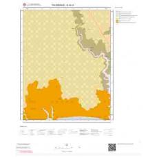 N43c4 Paftası 1/25.000 Ölçekli Vektör Jeoloji Haritası
