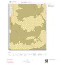 N43d1 Paftası 1/25.000 Ölçekli Vektör Jeoloji Haritası