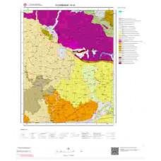 N44 Paftası 1/100.000 Ölçekli Vektör Jeoloji Haritası