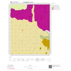 N44a1 Paftası 1/25.000 Ölçekli Vektör Jeoloji Haritası