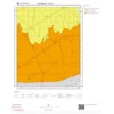 N44c4 Paftası 1/25.000 Ölçekli Vektör Jeoloji Haritası