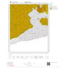 N 47 Paftası 1/100.000 ölçekli Jeoloji Haritası