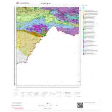 N 49 Paftası 1/100.000 ölçekli Jeoloji Haritası