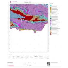 N 51 Paftası 1/100.000 ölçekli Jeoloji Haritası