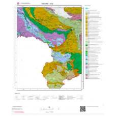 N 52 Paftası 1/100.000 ölçekli Jeoloji Haritası