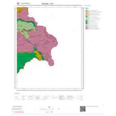 N 53 Paftası 1/100.000 ölçekli Jeoloji Haritası
