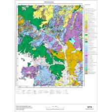 O 22 Paftası 1/100.000 ölçekli Jeoloji Haritası