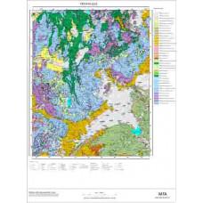 O 23 Paftası 1/100.000 ölçekli Jeoloji Haritası