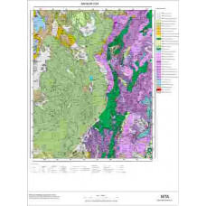 O24 Paftası 1/100.000 Ölçekli Vektör Jeoloji Haritası
