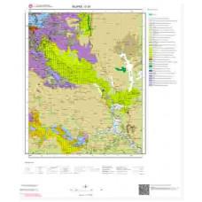 O30 Paftası 1/100.000 Ölçekli Vektör Jeoloji Haritası