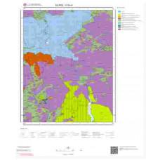 O30a1 Paftası 1/25.000 Ölçekli Vektör Jeoloji Haritası