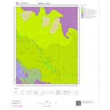 O30a3 Paftası 1/25.000 Ölçekli Vektör Jeoloji Haritası