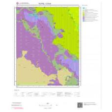 O30a4 Paftası 1/25.000 Ölçekli Vektör Jeoloji Haritası