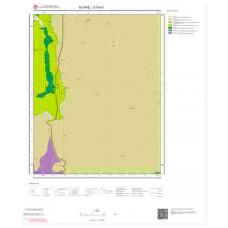 O30b1 Paftası 1/25.000 Ölçekli Vektör Jeoloji Haritası