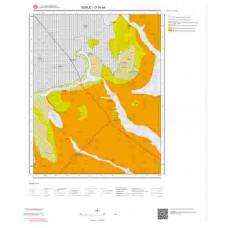 O 39-a4 Paftası 1/25.000 ölçekli Jeoloji Haritası