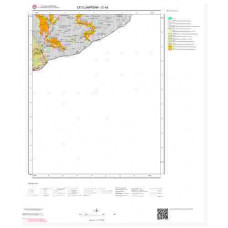 O 44 Paftası 1/100.000 ölçekli Jeoloji Haritası