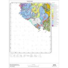 P 22 Paftası 1/100.000 ölçekli Jeoloji Haritası