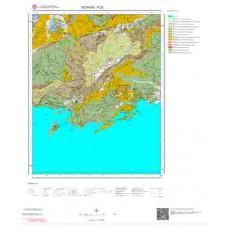P 23 Paftası 1/100.000 ölçekli Jeoloji Haritası
