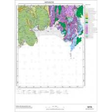 P 24 Paftası 1/100.000 ölçekli Jeoloji Haritası