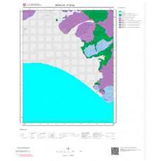 P24b4 Paftası 1/25.000 Ölçekli Vektör Jeoloji Haritası