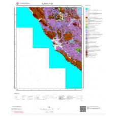 P 28 Paftası 1/100.000 ölçekli Jeoloji Haritası