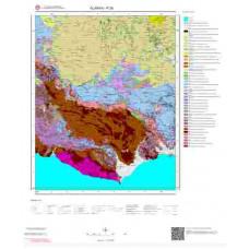 P 29 Paftası 1/100.000 ölçekli Jeoloji Haritası