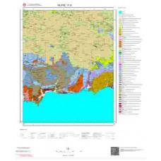 P 30 Paftası 1/100.000 ölçekli Jeoloji Haritası