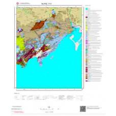 P 31 Paftası 1/100.000 ölçekli Jeoloji Haritası