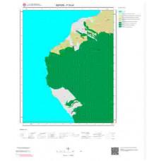 P35b4 Paftası 1/25.000 Ölçekli Vektör Jeoloji Haritası
