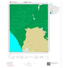 P35c2 Paftası 1/25.000 Ölçekli Vektör Jeoloji Haritası