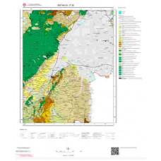 P 36 Paftası 1/100.000 ölçekli Jeoloji Haritası