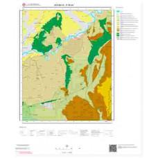 P36d4 Paftası 1/25.000 Ölçekli Vektör Jeoloji Haritası
