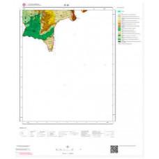 R 36 Paftası 1/100.000 ölçekli Jeoloji Haritası