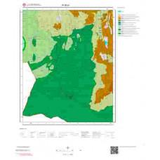 R36a1 Paftası 1/25.000 Ölçekli Vektör Jeoloji Haritası
