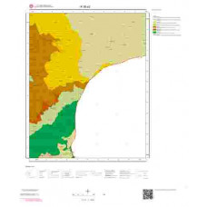 R36a2 Paftası 1/25.000 Ölçekli Vektör Jeoloji Haritası